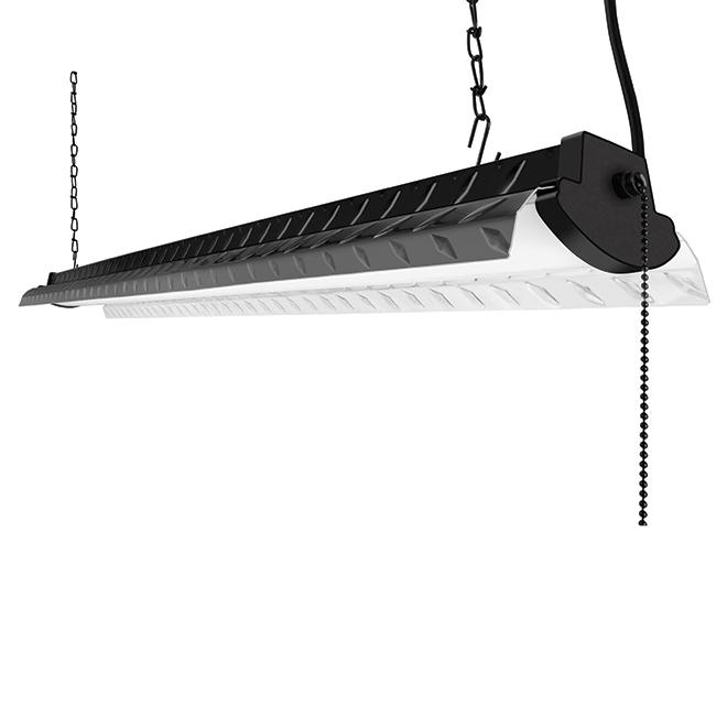 Workshop Light - LED - 4' - Black