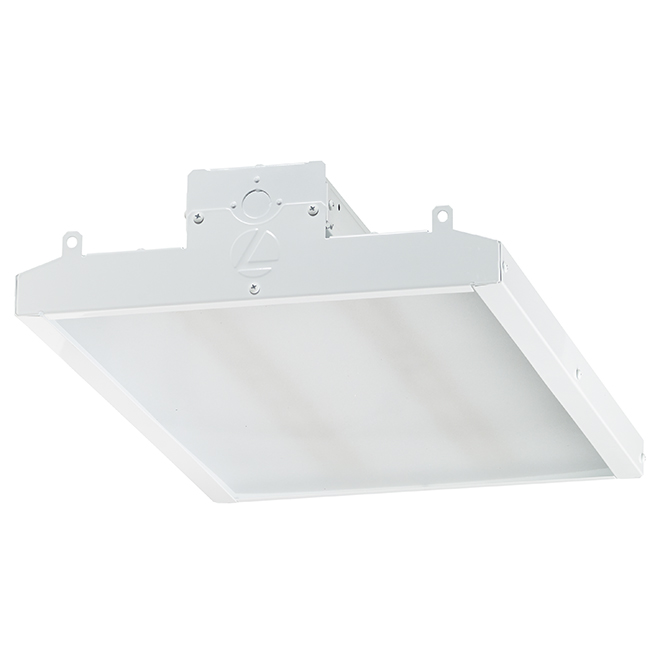 Metal Ceiling Light with LED Lighting - 2' - White