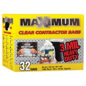 Contractor Garbage Bags - 159 L - 32-Pack