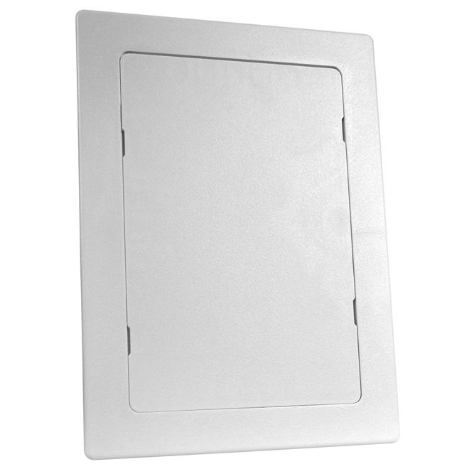 """Panneau d'accès 6"""" x 9"""" en ABS blanc résistant aux chocs"""