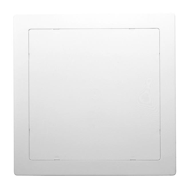 """Panneau d'accès 14"""" x 14"""" en ABS blanc résistant aux chocs"""