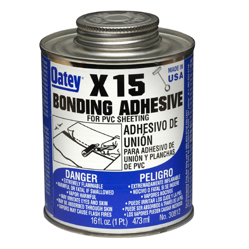 """X-15"" Bonding Adhesive for PVC Liner"