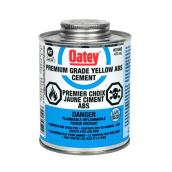 Yellow ABS Solvent Cement, with Dabber - 946 mL