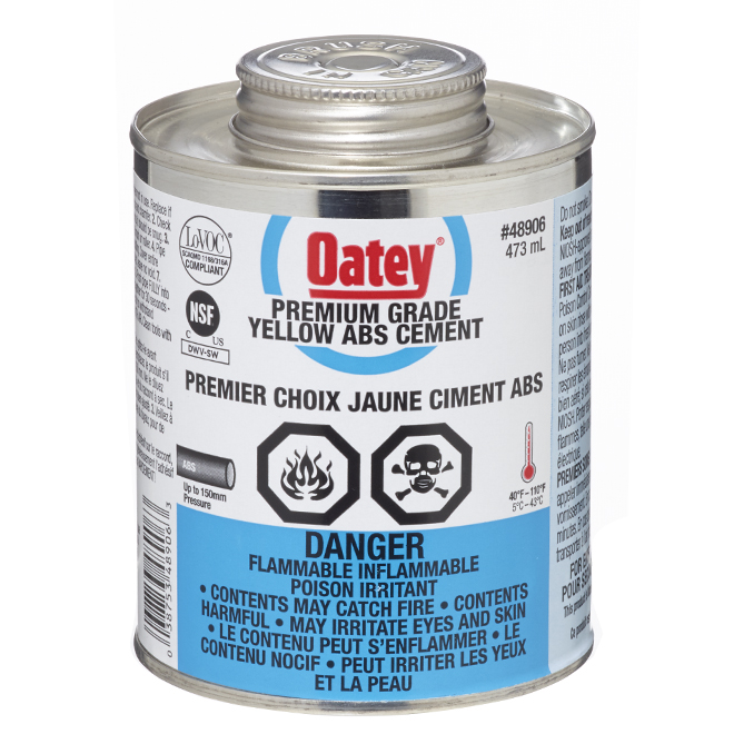 ABS Cement - Medium-Bodied - Yellow - 473 mL