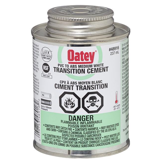 Transition Cement - Medium-Bodied White - 237 mL