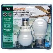 9-W Compact Fluorescent Lightbulbs