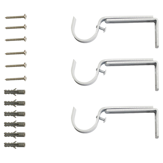 Rod Brackets -  Pack of 3