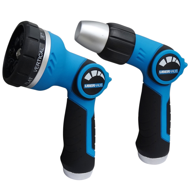 Adjustable Thumb-Control Water Spray Gun Set - 2 Pieces