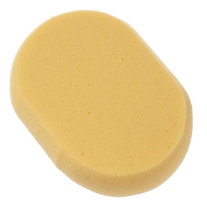 Éponge lave-mur ovale en polyuréthane