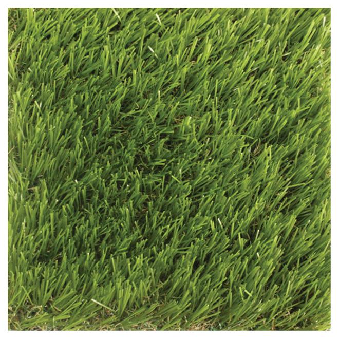 CCGrass Artificial Grass Carpet - 3.3-ft x 3.3-ft - Green