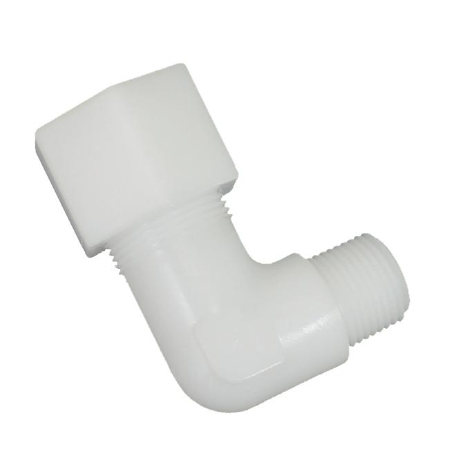Compression elbow
