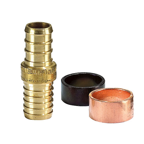 1/2-in Brass transition coupling set