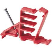 Cable Staple for Wood - Red - 8-Pack