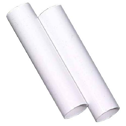 Couvert de douille, blanc, paquet de 2