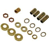All-Purpose Lamp Accessories - 18-Piece Kit - Brass