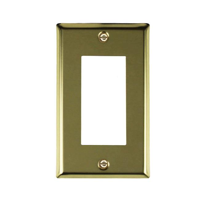 Plaque d'interrupteur simple
