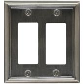 Double Rocker Wall Plate