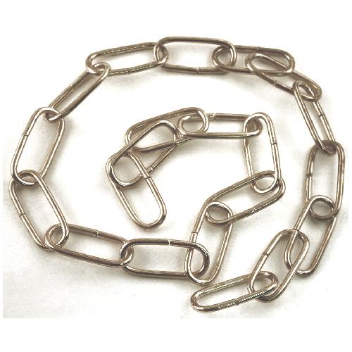 Oval Links Heavy Duty Decorative Chain - 3' - Chrome