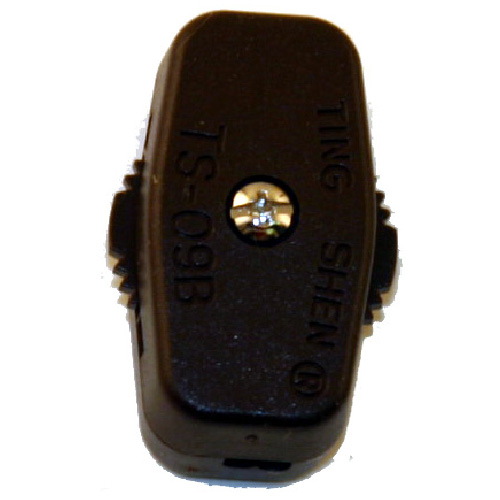 Atron In-Line Universal Switch - Brown Plastic - Rotary - Single Pole