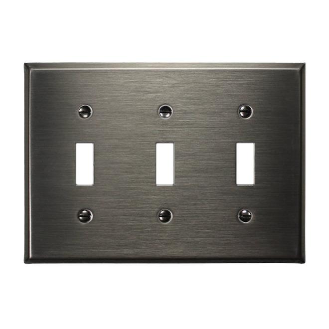 Triple Toggle Wall Plate