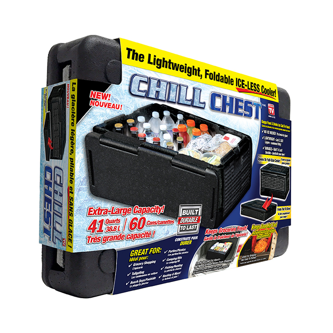 Chill Chest Cooler(TM) - Polypropylene - 38.8 L - Black