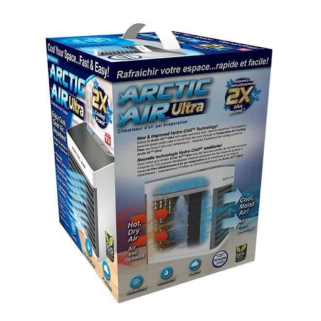 Climatiseur d'air par évaporation, portatif, blanc