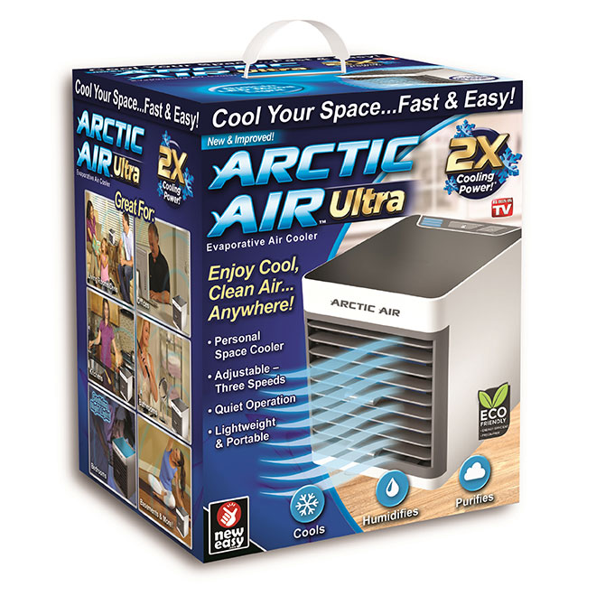Evaporative Air Cooler - Portable - White