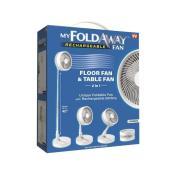 Ventilateur de table, Bell + Howell, 40 po 3-vitesses, blanc