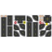 Peel and Stick Wall Decals - Build-A-Road