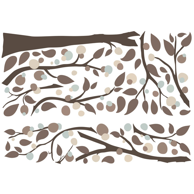Peel and Stick Giant Wall Decals - Tree