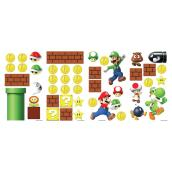 Wall Decals - Super Mario - 45 Stickers