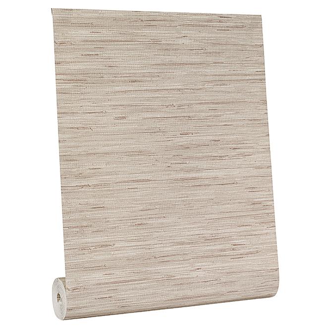 Wallpaper - Grass Cloth Motif - 56 sq.ft. - Taupe
