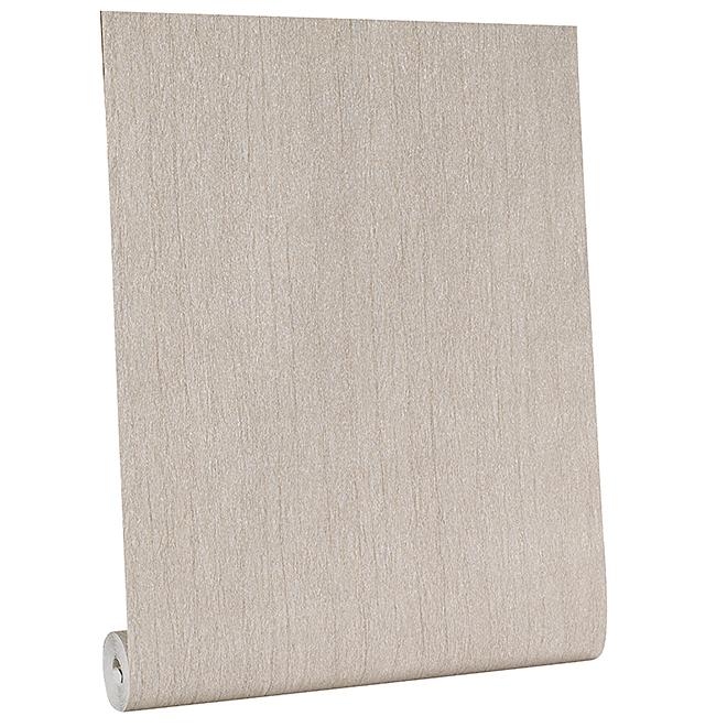 Papier peint texturé, 56 pi.², or