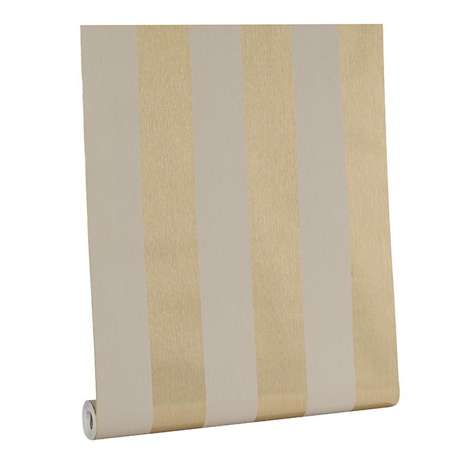 Wallpaper - Stripes - 56 pi² - Gold