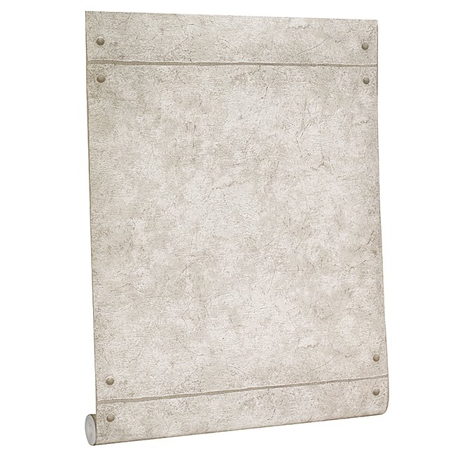 Wallpaper - Concrete Look - 56 sq.ft. - Light Grey