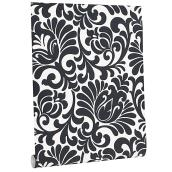 Wallpaper - Damask Patterns - 56 sq.ft. - Black/White