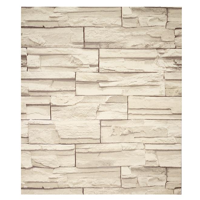 York Wallpaper - Stones Look - Grey - 56 sq. ft.