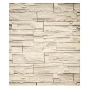 York Wallpaper - Stones Look - Grey - 56 sq. ft.