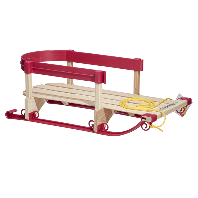 "Baby Wood Sled - ""Alpine"" Model - No Pad"