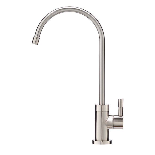 Drinking Water Faucet - 1 Lever - Brushed Nickel Finish