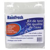 Test de qualité d'eau, plomb, pesticide, nitrates/nitrites
