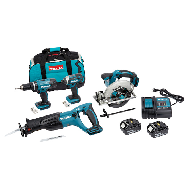 18-V Cordless tool set