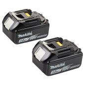 Paquet de 2 batteries 18 V