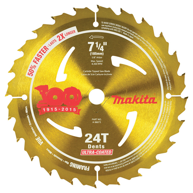 "Blade - 7 1/4"" Framing Circular Saw Blade"