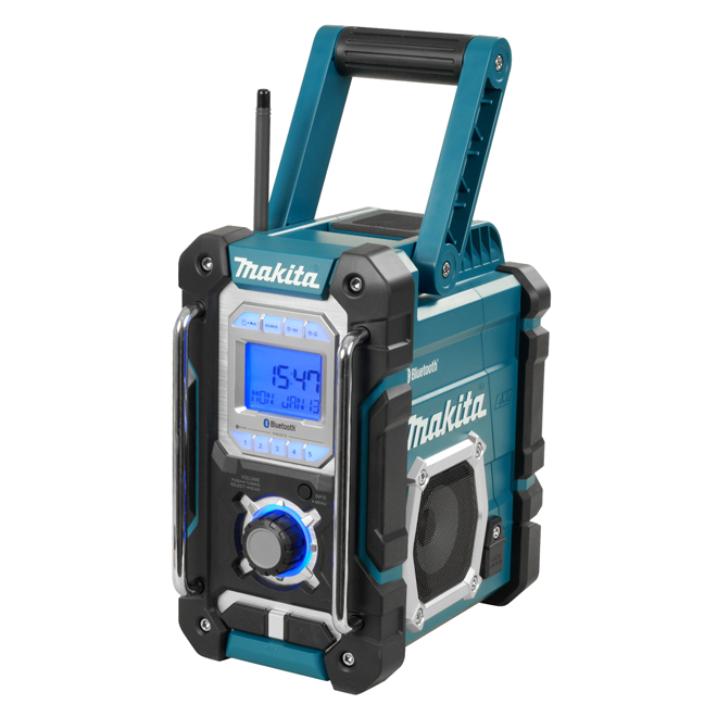 Jobsite Radio with Bluetooth and USB Charger