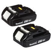 Makita - Lithium-Ion Battery - 18 V - 1.5 Ah - 2/pack