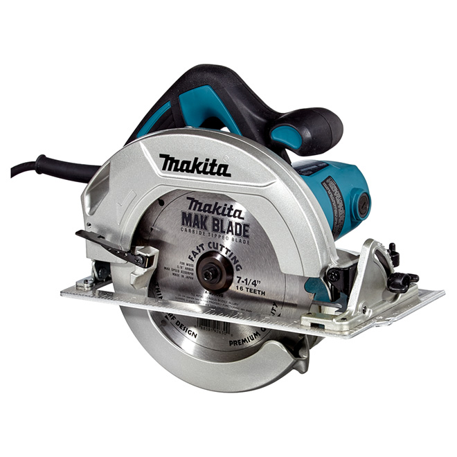 "7 1/4"" Teal 5200 RPM Circular Saw"