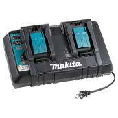 Dual Port Quick Charger for 18V Lithium Batteries