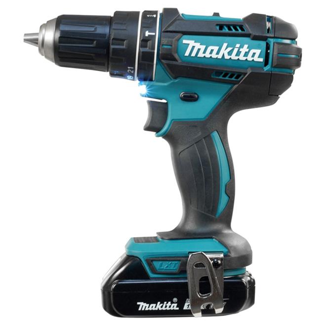 """Hammer Drill - Cordless - 1/2"""" - 18 V"""