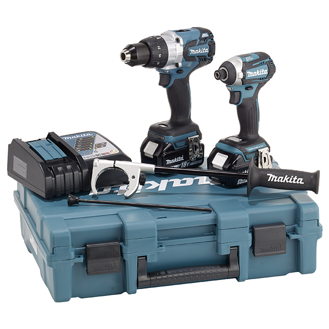 LXT Hammer Drill and Impact Driver - 18 V - Teal